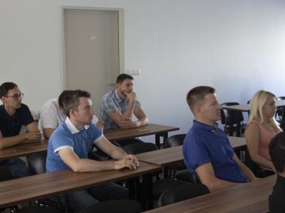 Sprejem diplomantov IWE/ IWT v podjetju Daihen Varstroj