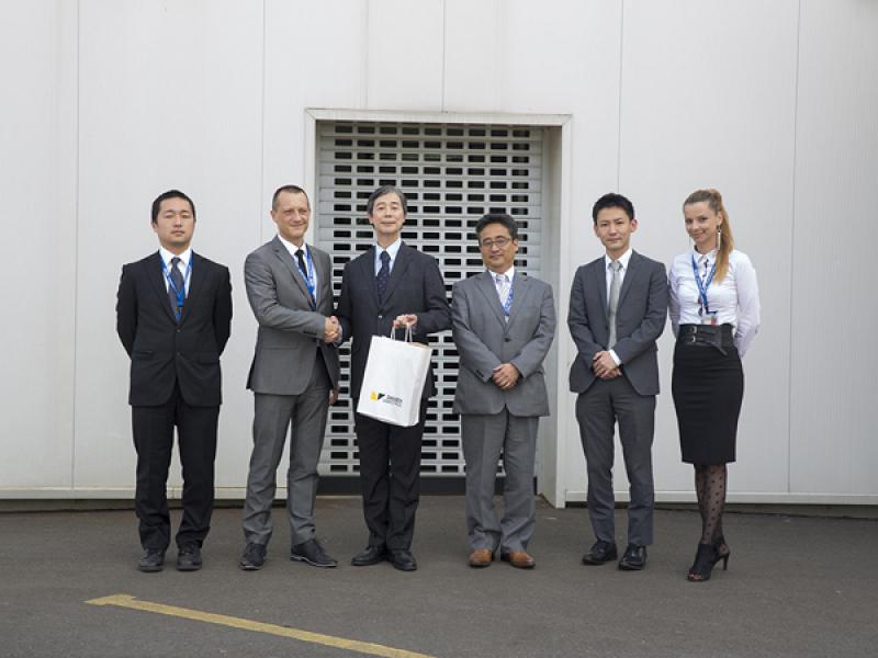 Japonski veleposlanik Keiji Fukuda obiskal podjetje Daihen Varstroj