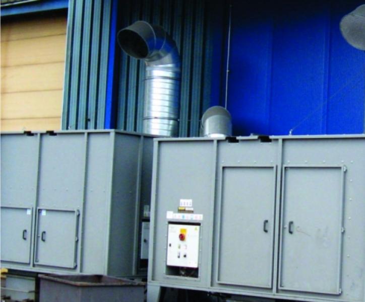 Odsesovalno-filtrirne naprave ECO-AIR