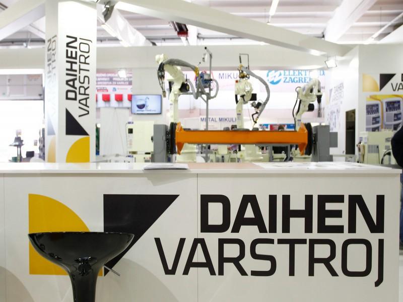 Daihen Varstroj na sejmu Varjenje in livarstvo 2015